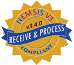 NEMSIS V3 Receive & Process Compliant gold star